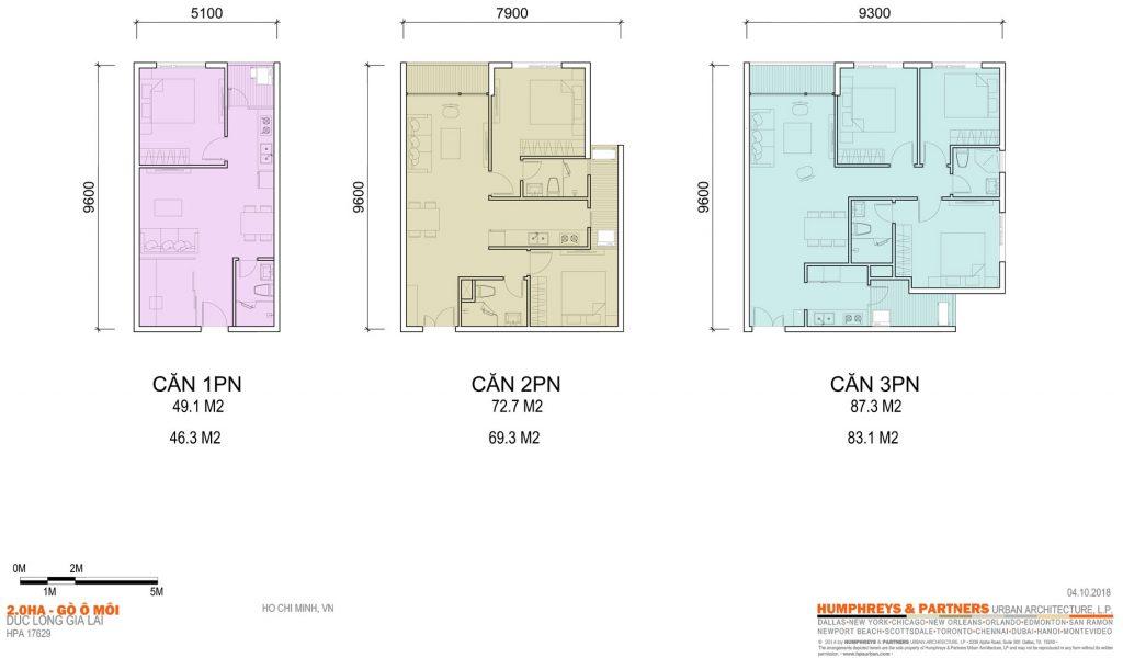 Thiết kế Căn hộ Elysium Tower Gò Ô Môi Quận 7