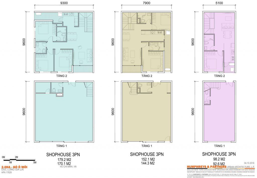 Thiết kế ShopHouse Dự án Elysium Tower Gò Ô Môi Quận 7