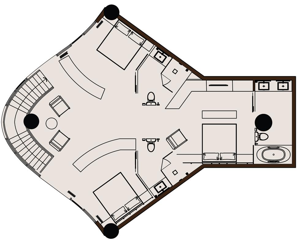 Thiết kế Căn hộ Penthouse Dự án The Panorama Đà Lạt