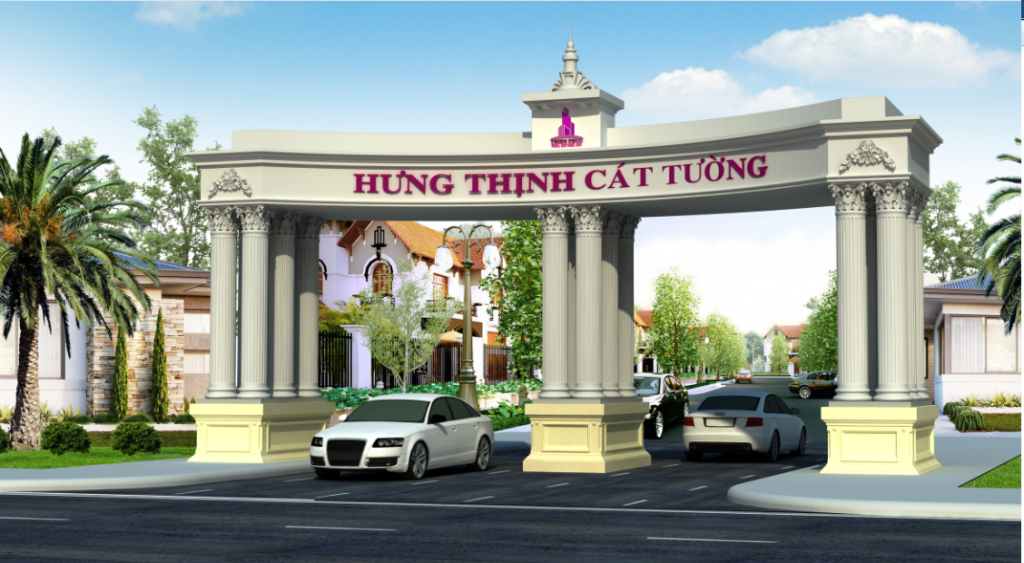 cong du an hung thinh cat tuong town