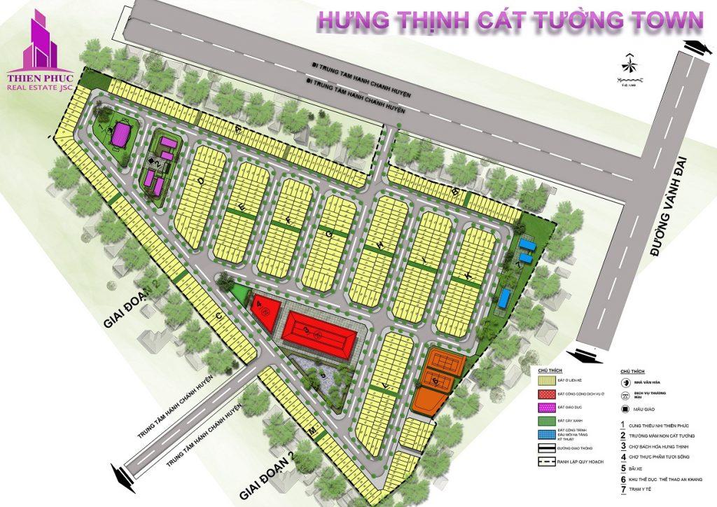 mat bang du an hung thinh cat tuong town