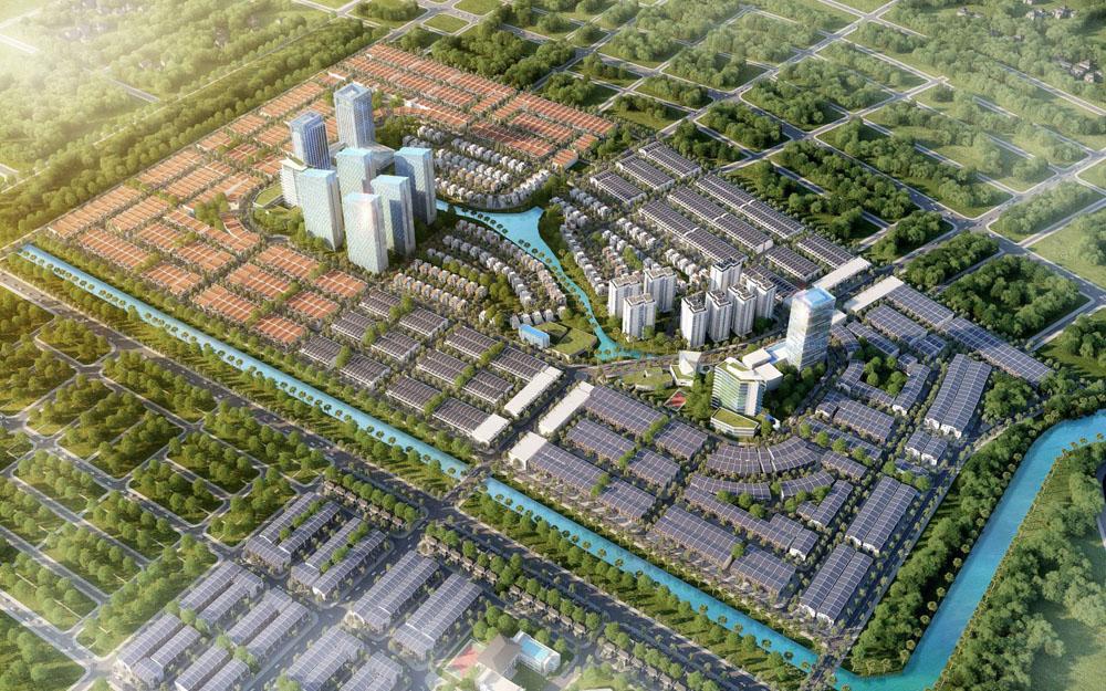 Phối cảnh toàn Dự án Dragon Smart City Liên Chiểu Đà Nẵng