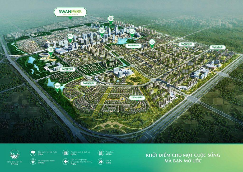 Dự án Swan Park Nhơn Trạch Đồng Nai