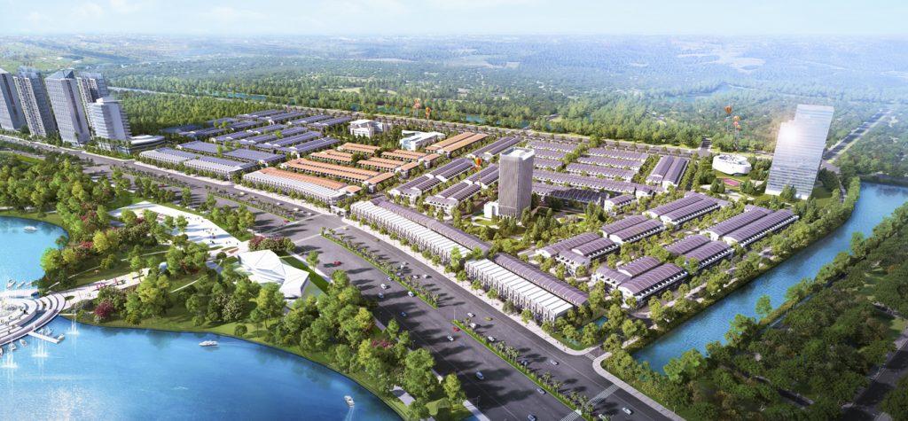 Hệ thống Sông - Hồ nhân tạo tại Dự án Dragon Smart City Đà Nẵng