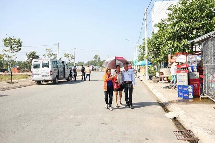 Hình ảnh thực tế tại Dự án Đất nền Hóc Môn Town Phan Văn Hớn