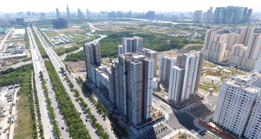Hình ảnh thực tế căn hộ New City Thủ Thiêm của chủ đầu tư Thuận Việt Quý 4/2016