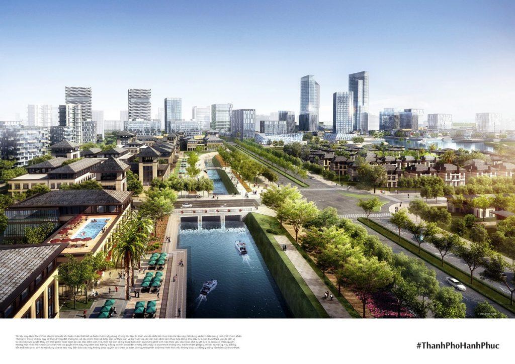 Khu công viên Dự án Swan Park Nhơn Trạch Đồng Nai