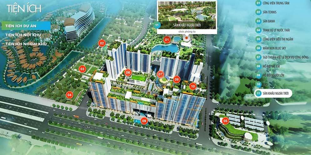 Tiện ích nội khu Dự án căn hộ New City Thủ Thiêm
