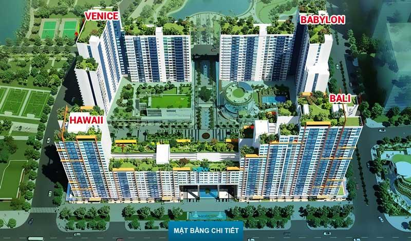 Toàn khu Dự án căn hộ New City Thủ Thiêm