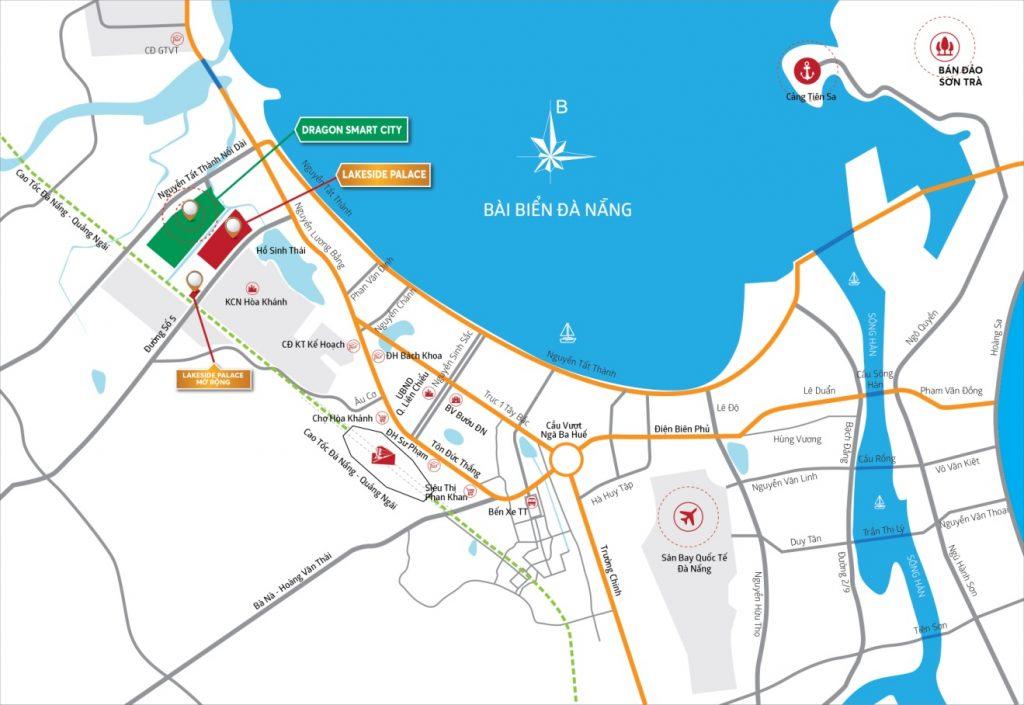 Vị trí Dự án Dragon Smart City Đà Nẵng