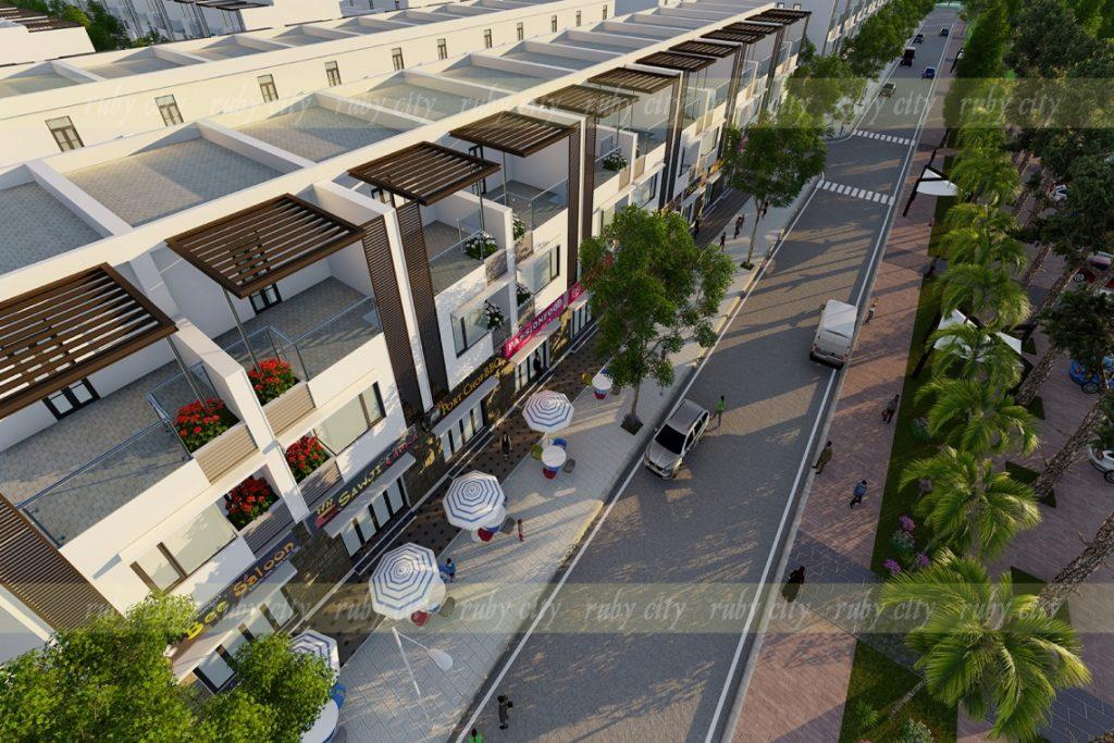 Khu ShopHouse Dự án Ruby City