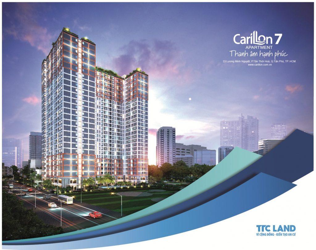 Phối cảnh Dự án Căn hộ Carillon 7 Tân Phú