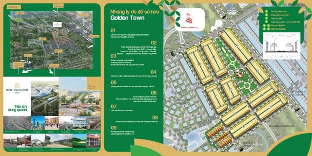 Dự án Đất nền Biên Hòa Golden Town
