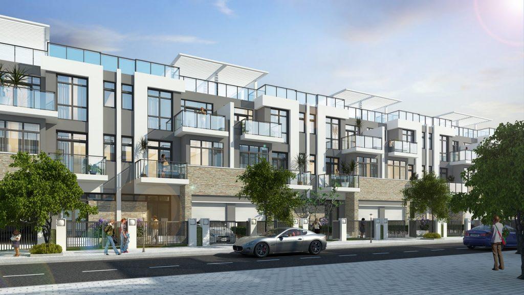 Thiết kế Nhà phố Liên kế Dự án Khu đô thị Kim Long Ocean Thuận Phước Đà Nẵng
