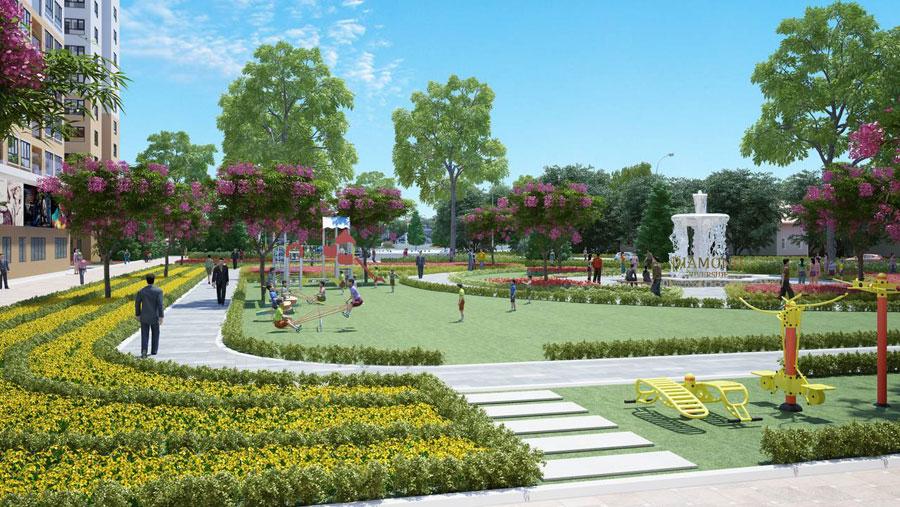 Công viên Căn hộ CTL Tower Tham Lương Quận 12