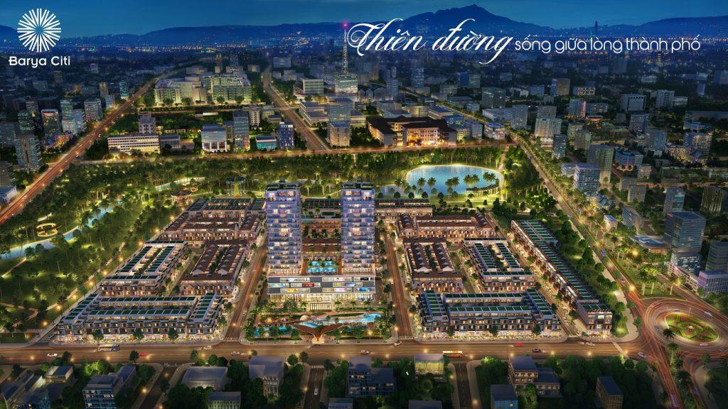 Dự án Nhà phố Barya Citi Vũng Tàu