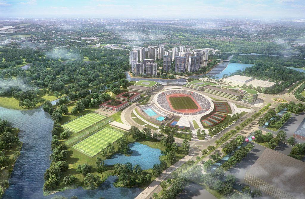 Mặt bằng tổng thể Dự án khu đô thị Saigon Sports City Quận 2