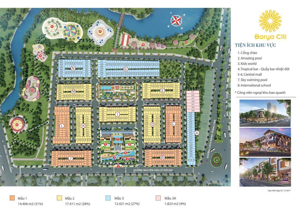 Tiện ích Dự án Nhà phố Barya Citi Vũng Tàu