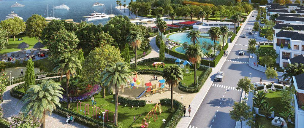 Công viên Dự án khu đô thị Saigon Sports City Quận 2