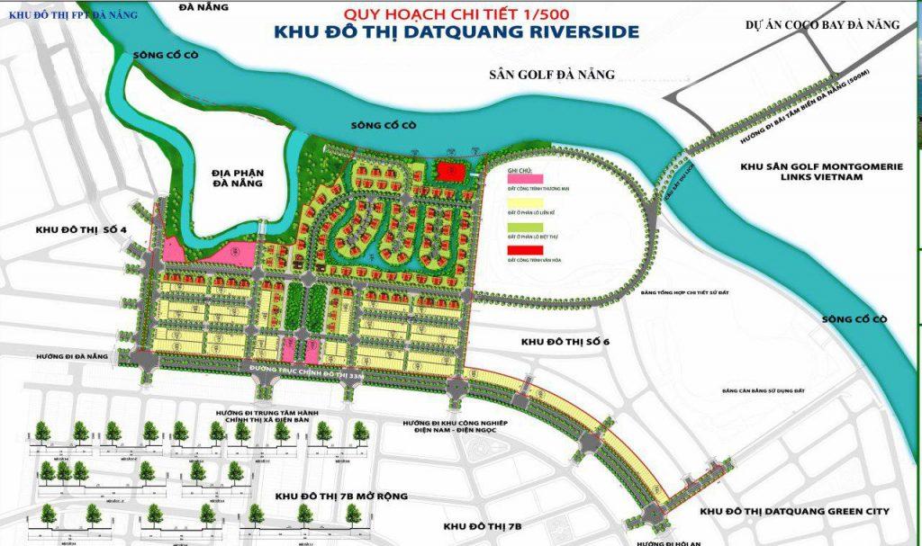 Vị trí Dự án Đất Quảng Riverside