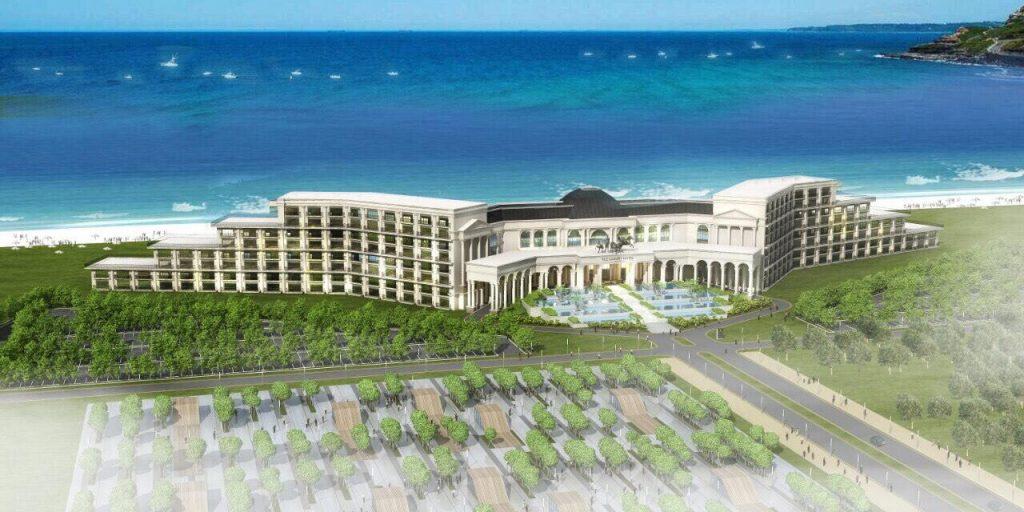 Phối cảnh khách sạn 5 sao FLC LuxuryHotel Quảng Bình