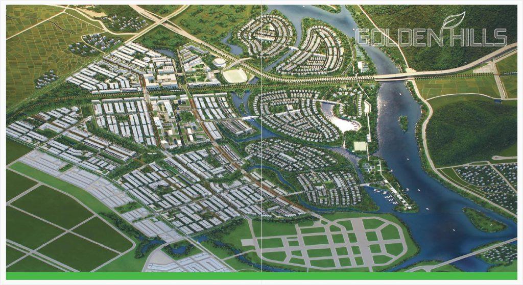 Dự án Khu đô thị Golden Hills Đà Nẵng