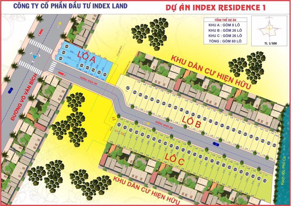 Dự án Index Residence Võ Văn Bích Bình Mỹ Củ Chi