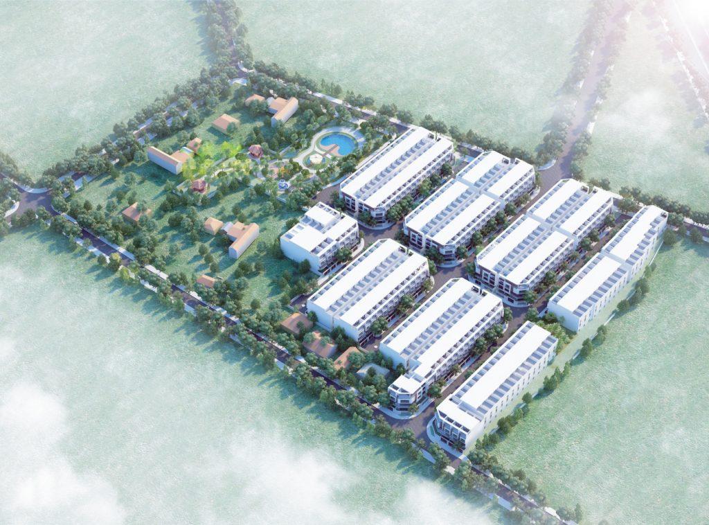 Phối cảnh Dự án Khu dân cư Phước Tân Residence Biên Hòa Đồng Nai