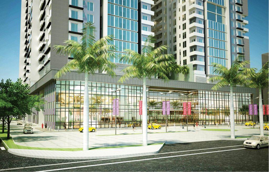 Khu trung tâm thương mại Dự án Res Green Tower Thoại Ngọc Hầu
