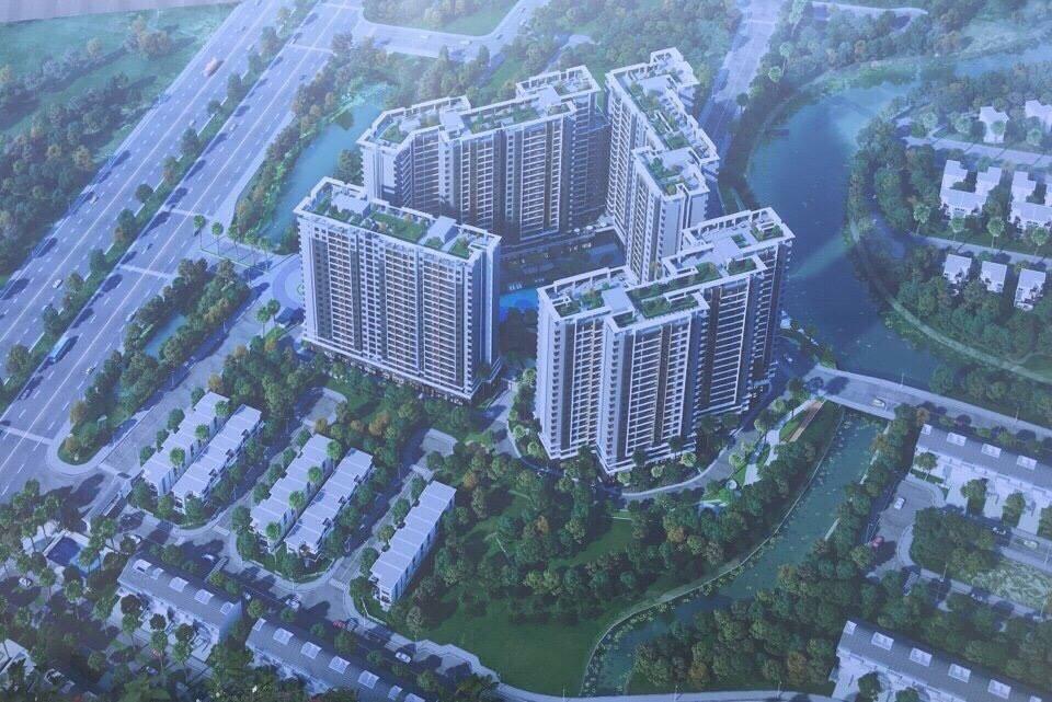 Phối Cảnh Dự án Căn hộ Shappira Khang Điền Quận 9