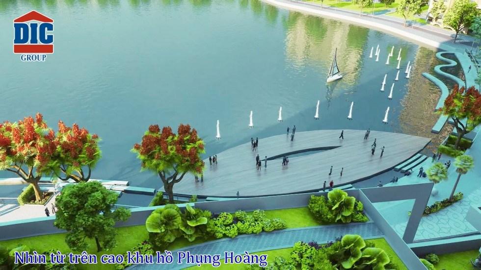 Khu hồ Phụng Hoàng Dự án Căn hộ Vũng Tàu GetWay