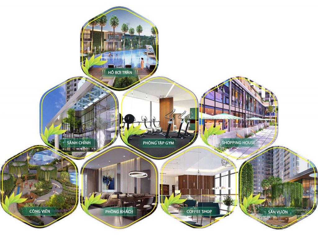 Tiện ích Dự án căn hộ Charmington IrisTôn Thất Thuyết Quận 4
