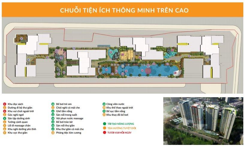 Tiện ích sân thượng Dự án Căn hộ Seasons Avenue Quận Hà Đông Hà Nội
