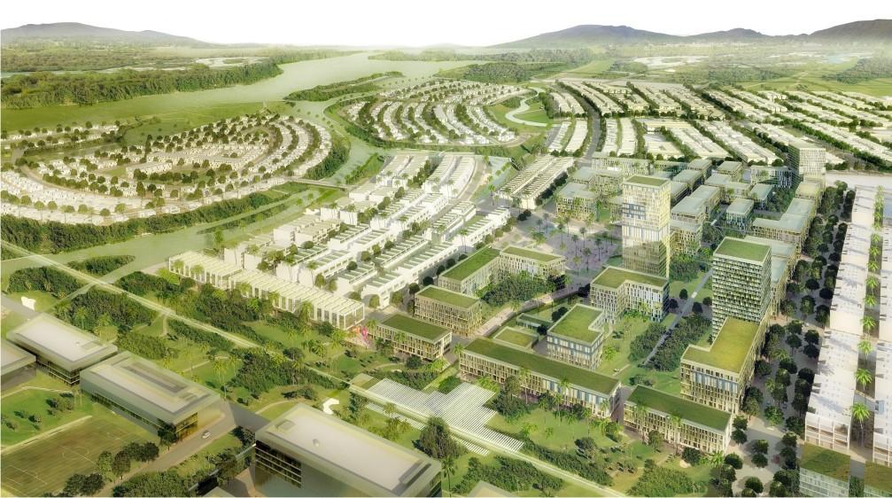 Phối cảnh Dự án Khu đô thị Golden Hills Đà Nẵng