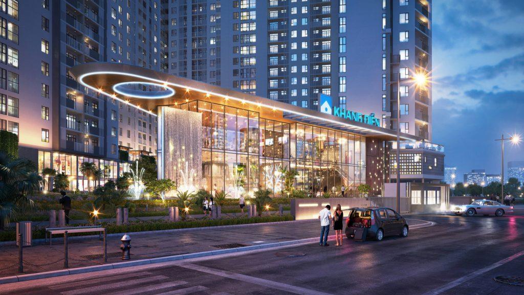 Hệ thống trung tâm thương mại dự án Sapphira