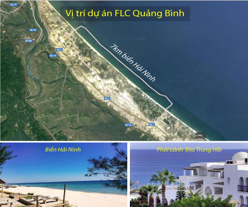 Vị trí Dự án FLC Quảng Bình