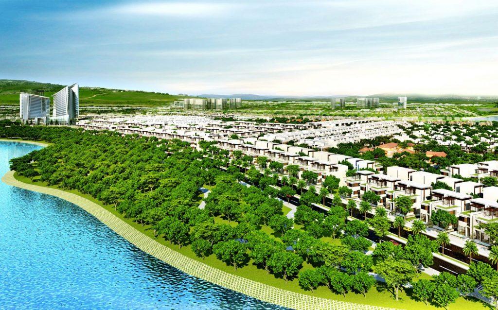 phoi canh du an homeland central park da nang