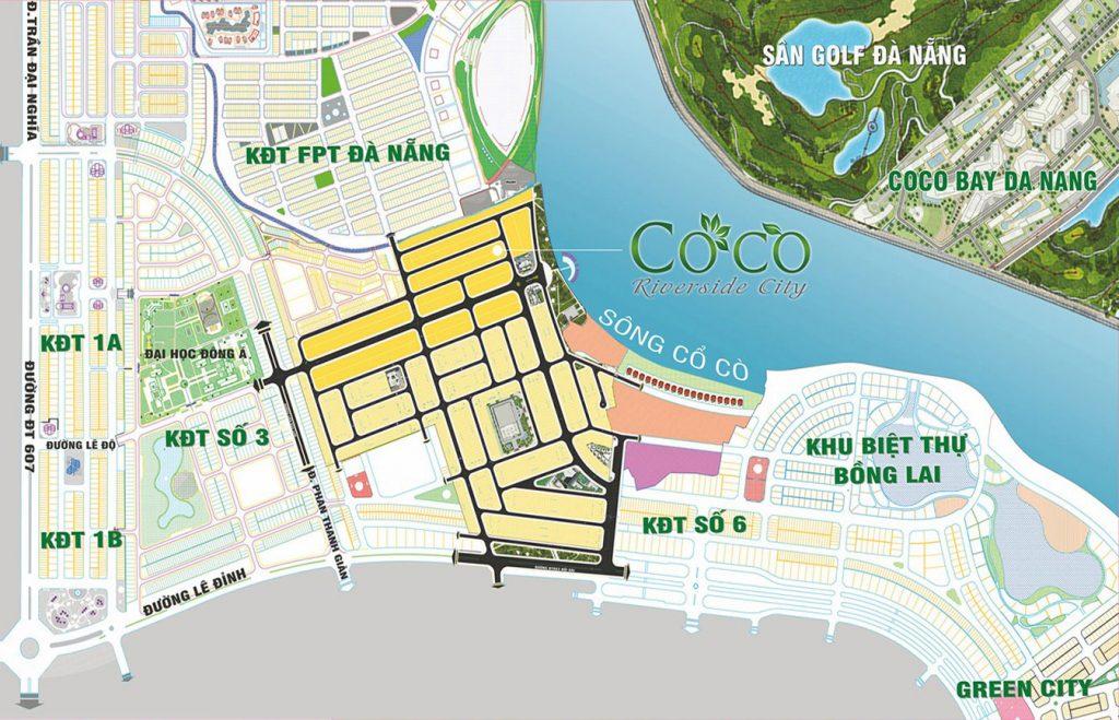 Tổng thể Dự án Coco Complex RiverSide