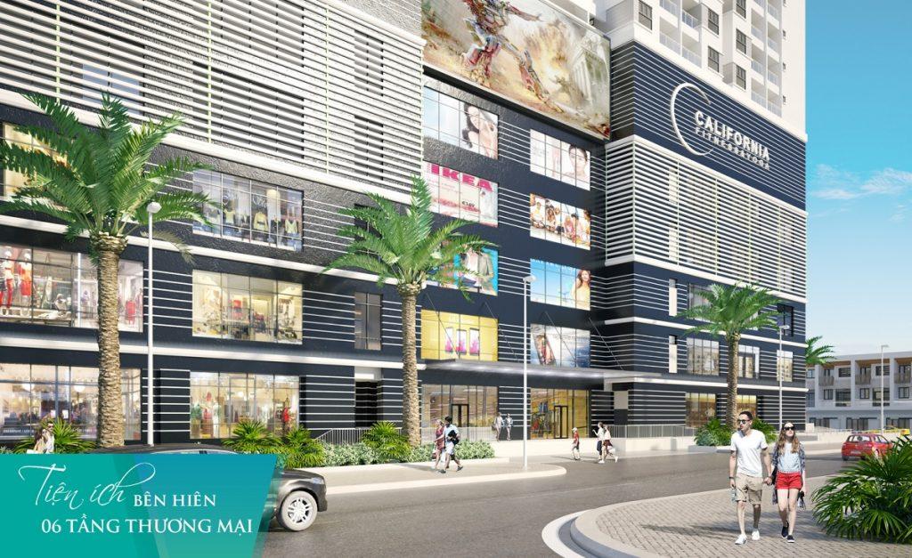 Tiện ích tai dự án saigon skyview-6 tầng thương mại