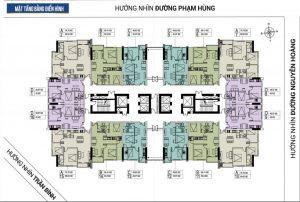 mat bang tang FLC Green Apartment