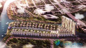 3 mặt giáp Sông của Dự án EverGreen Quận 7