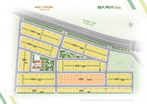 Mặt bằng tổng thể dự án Ba Ria City Gate