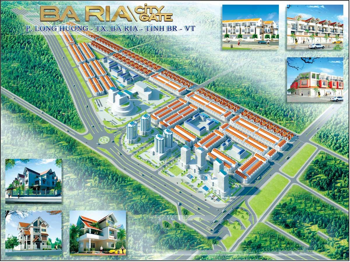 Dự án Khu đô thị Baria City Gate Bà Rịa Vũng Tàu