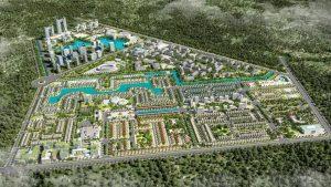 Phối cảnh Dự án Everde City Long An