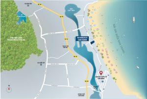 Vị trí Dự án Nova Beach Cam Ranh