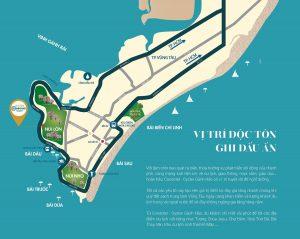 Vị trí Dự án Oyster Gành Hào