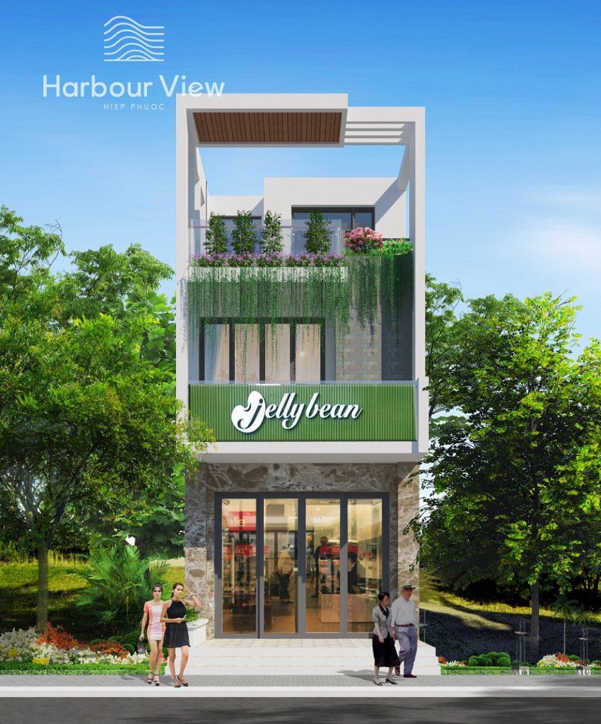 Phối cảnh nhà phố Hiệp Phước Harbour View
