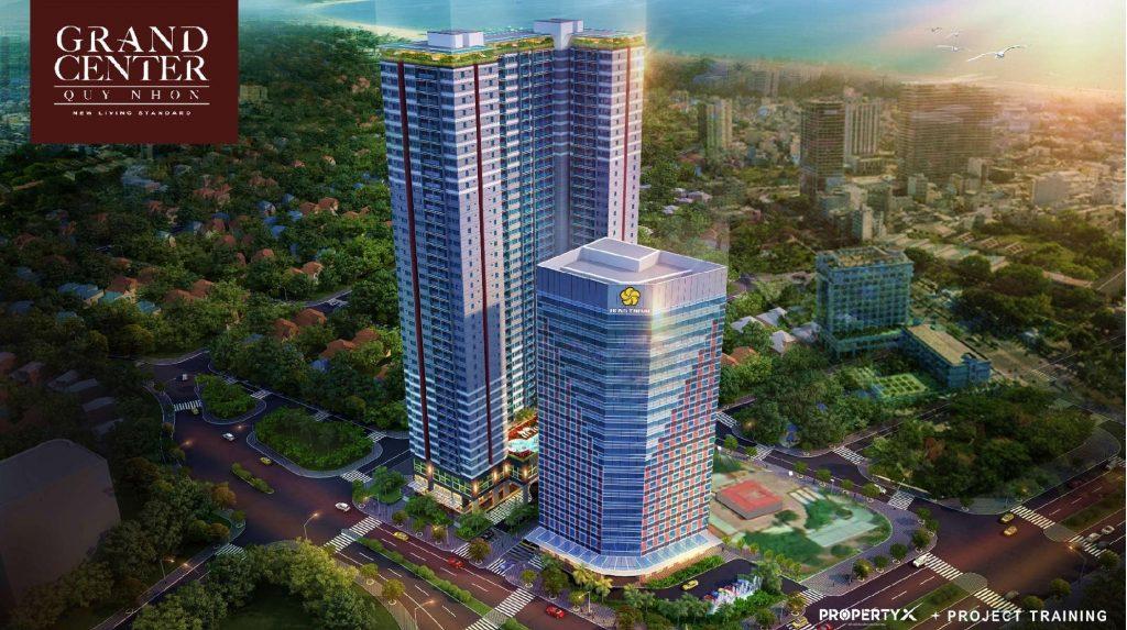 Tổng quan dự án Căn hộ Grand Center Quy Nhon