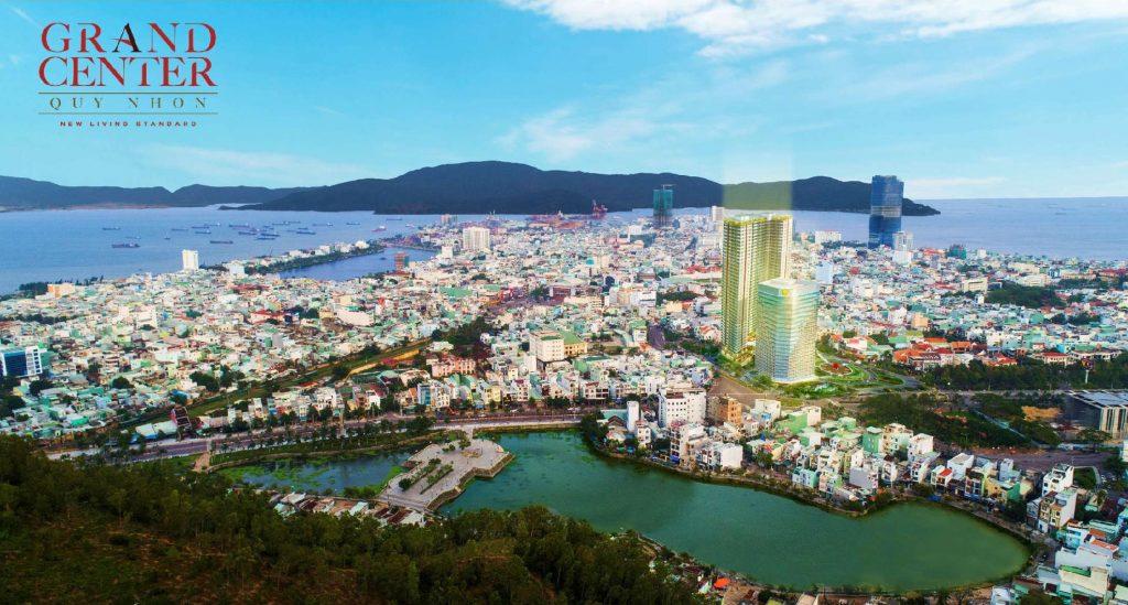 Toàn cảnh dự án Căn hộ Grand Center Quy Nhon