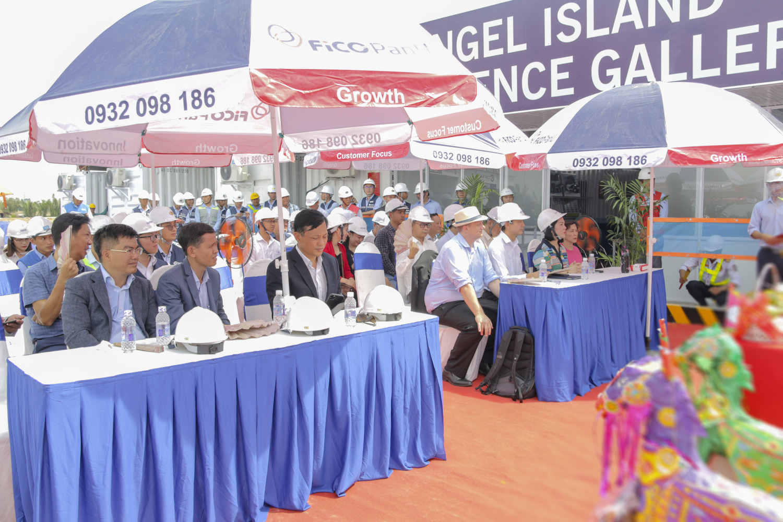 khởi công dự án Angel Island (2)